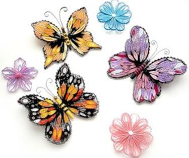 Как изготовить бабочки