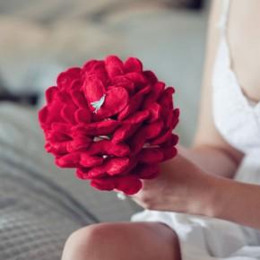 Букет на день Святого Валентина своими руками